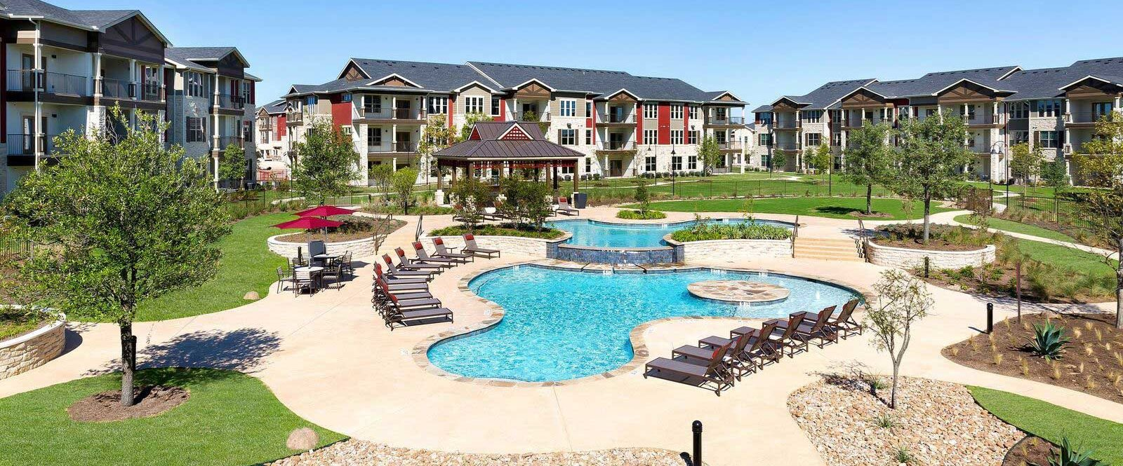 The Park At Crystal Falls Apartments In Leander Tx